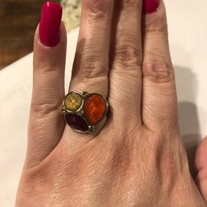 "EUC PREMIER DESIGNS ""POPPY"" RING"